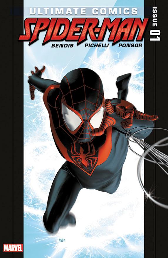 Primeira edição em que Miles Aparece como Homem-Aranha