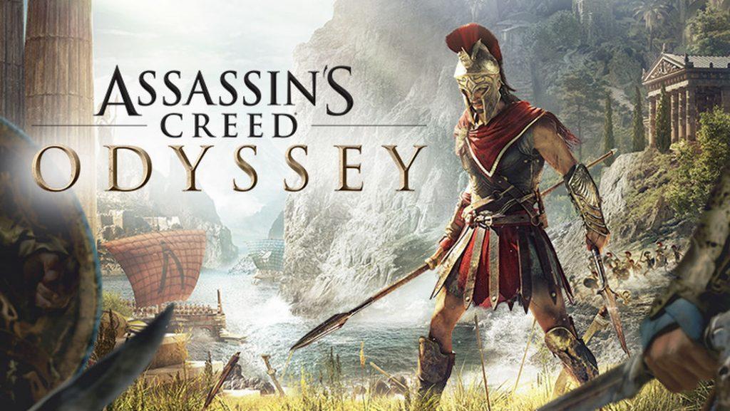 Capa do jogo Assassin's Creed Odyssey