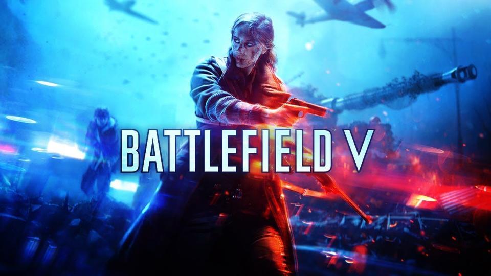 Capa do jogo Battlefield V