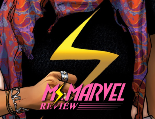 Capa da Ms. Marvel