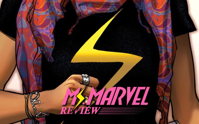 Capa da Ms. Marvel