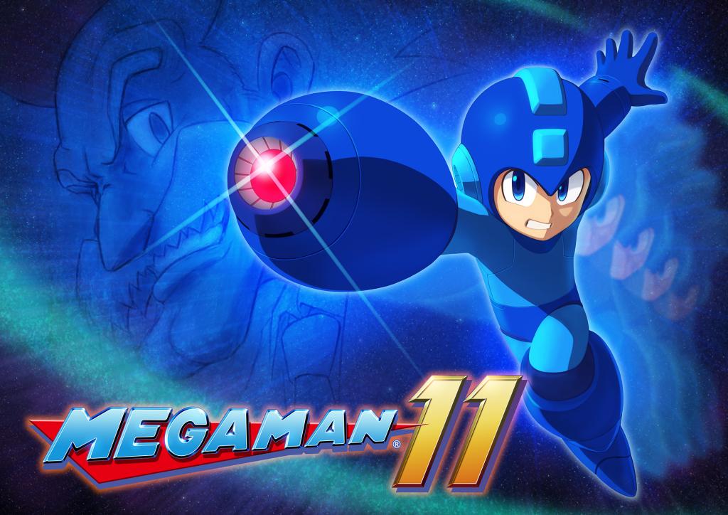Capa do jogo Mega man 11