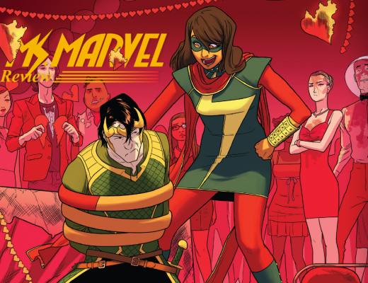 Imagem de capa Ms. Marvel: Apaixonada