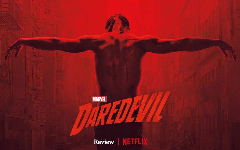 Imagem de capa do post sobre o review da terceira temporada do Demolidor