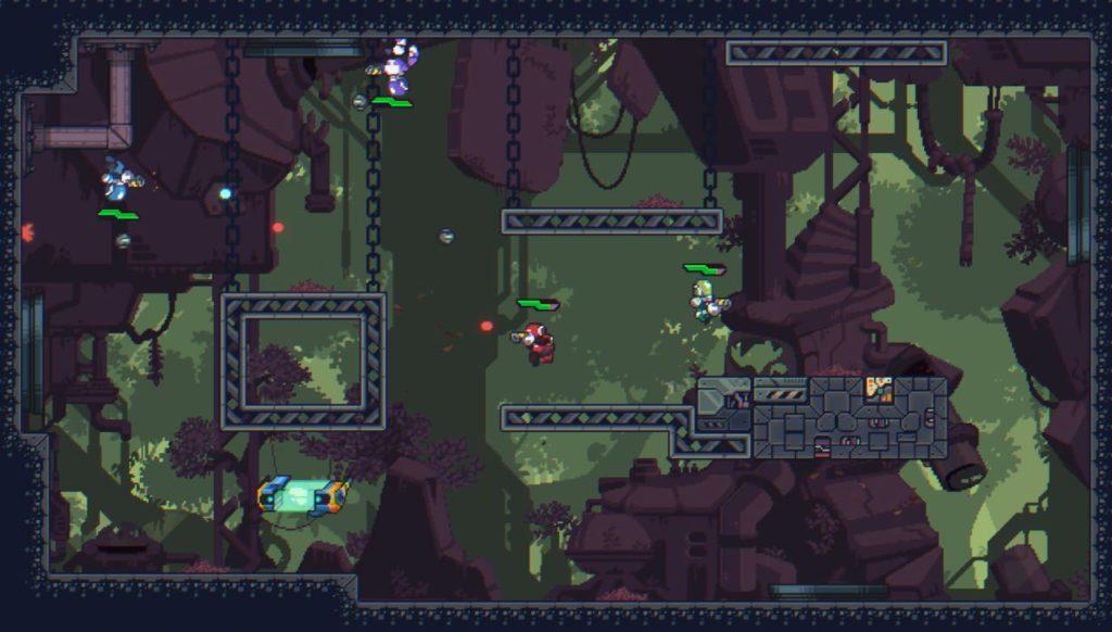 Imagem de uma fase do jogo