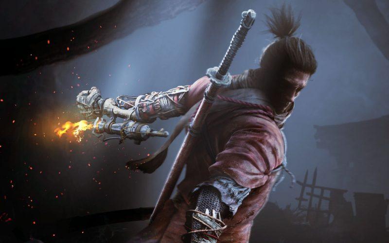 Sekiro - Capa do post que mosta o protagonista do game