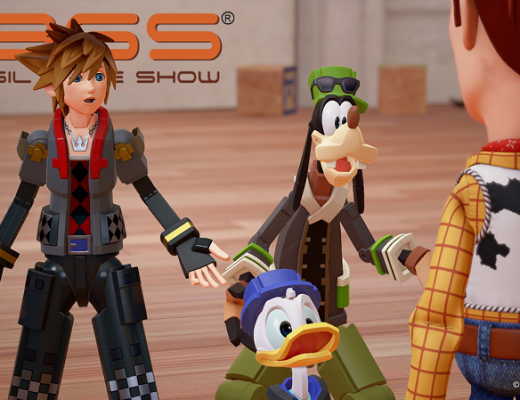 Imagem de capa de Kingdom Hearts 3 no mundo Toy Box