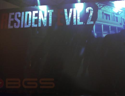 Imagem de capa com nossas impressões do jogo Resident Evil 2 remake na BGS 2018