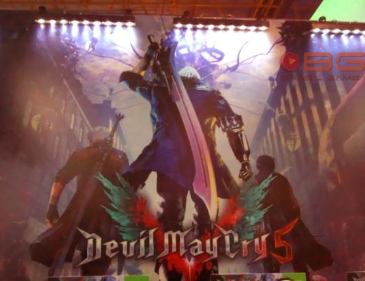 Imagem de capa do jogo Devil May Cry 5 que testamos na BGS 2018