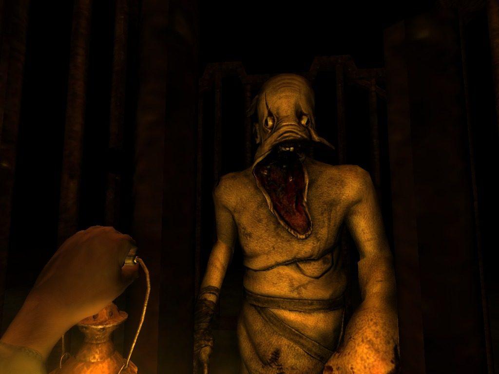 Monstro Grunt do jogo Amnesia The Dark Descent