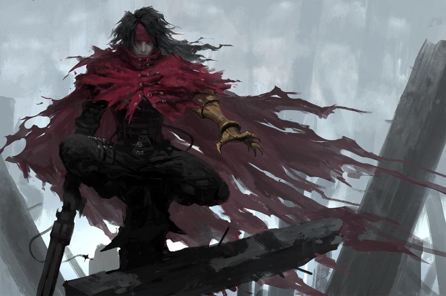 Vincent do Final Fantasy VII
