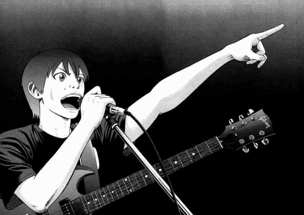 Imagem do Koyuki cantando