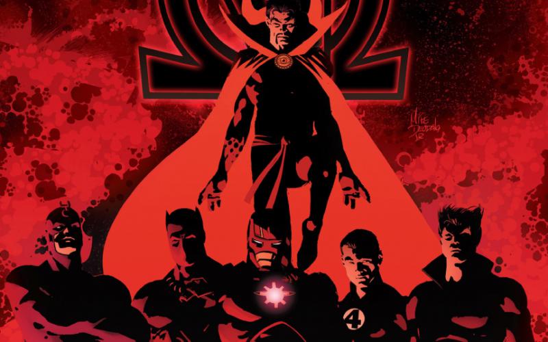 Novos Vingadores: Infinito - capa do post com os Illuminati