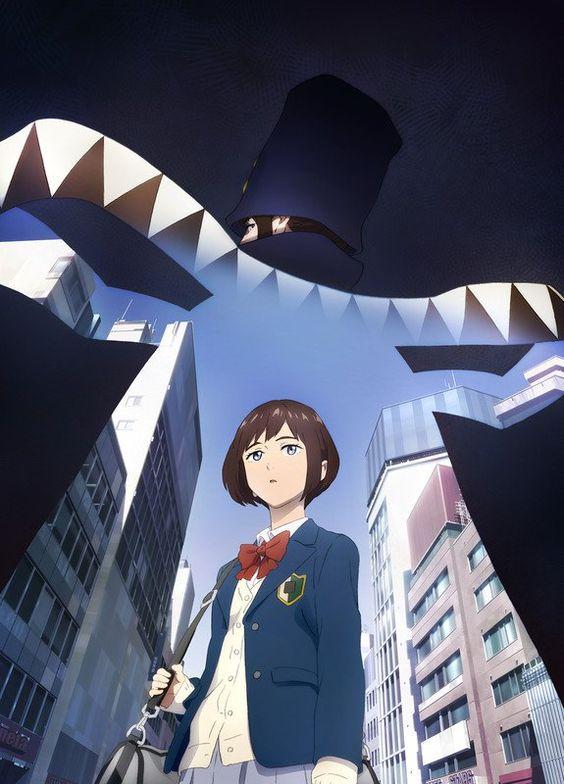 Imagem de divulgação do anime Boogiepop wa Warawanai