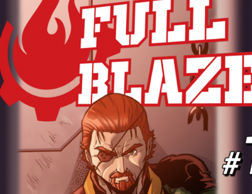 Full Blaze - Capa do post