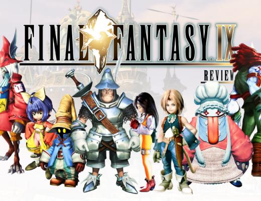 Capa com todos os personagens principais de FF IX