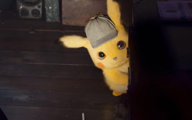 Detetive Pikachu - Imagem com o Pikachu do filme